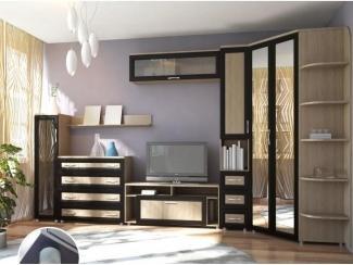 Гостиная с угловым шкафом Вентура - Мебельная фабрика «Аллоджио»