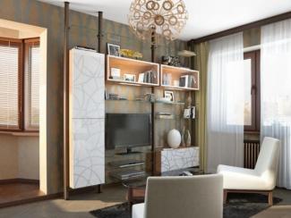 Гостиная стенка 076 - Мебельная фабрика «Mr.Doors»