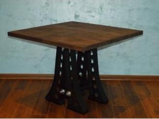 Стол квадратный Аустин - Мебельная фабрика «Loft Zona»