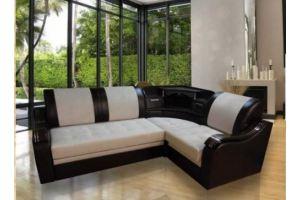 Угловой диван Виктория бар с хлебницей  - Мебельная фабрика «Викс»
