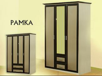 Шкаф распашной «Шк-4» (рамка) - Мебельная фабрика «Мебель Прогресс»