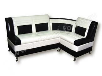 Черно-белый уголок Фортуна 10  - Мебельная фабрика «Форум»