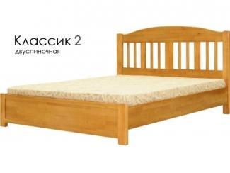 Кровать Классик 2 - Мебельная фабрика «Массив»
