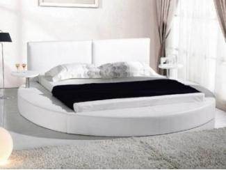 Дизайнерская кровать круглой формы   - Мебельная фабрика «Кадичи»
