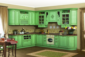 Кухня из массива дерева 08 - Мебельная фабрика «МеТра», г. Москва