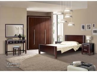 Спальня Турин 2 - Мебельная фабрика «Фокин»