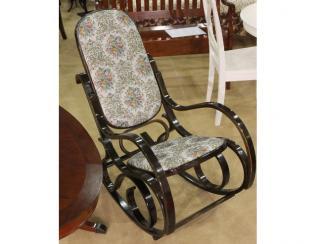 Мебельная выставка Москва: кресло-качалка - Салон мебели «Тэтчер»