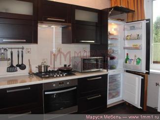 Кухня прямая Модерн массив - Мебельная фабрика «Маруся мебель»
