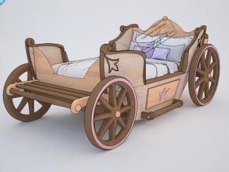 Кровать детская Карета - Мебельная фабрика «Абсолют-мебель»
