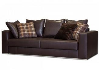 Кожзам прямой диван Талия - Мебельная фабрика «Могилёвмебель», г. - не указан -