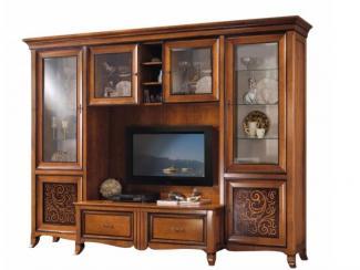 Гостиная стенка Natural bicolor - Импортёр мебели «Spazio Casa»