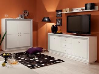 Гостиная стенка Прато исполнение 1 - Мебельная фабрика «Кураж»