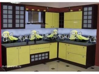 Кухонный гарнитур с пластиковыми фасадами