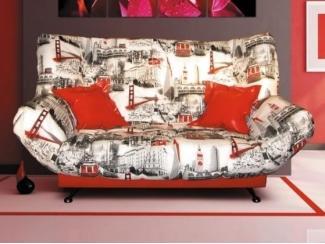 Яркий клик-кляк диван Гольф - Мебельная фабрика «Асти»