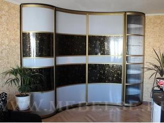 Шкаф-купе с радиусными дверями - Мебельная фабрика «ТРИ-е»