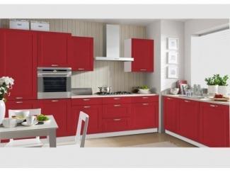 Красная угловая кухня Николь - Мебельная фабрика «SL-Мебель»