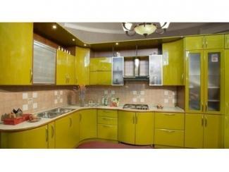 Большая кухня с фасадами эмаль  - Мебельная фабрика «Вектра-мебель»