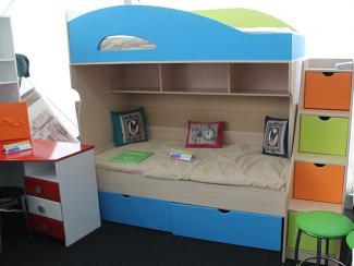 Мебельная выставка Краснодар: 2х-ярусная детская кровать - Мебельная фабрика «Гамма-мебель»