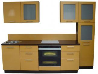 Кухня прямая Золото
