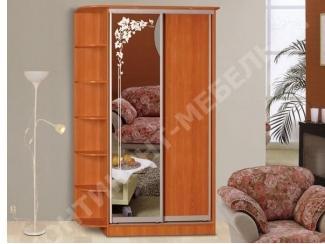 Шкаф-купе 4 в спальню  - Мебельная фабрика «Континент-мебель»