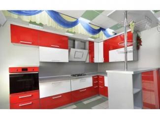 Красная кухня Маврики - Мебельная фабрика «Статус»