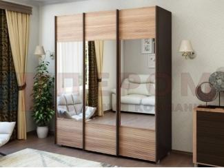 Шкаф-купе с зеркалами - Мебельная фабрика «Лером»
