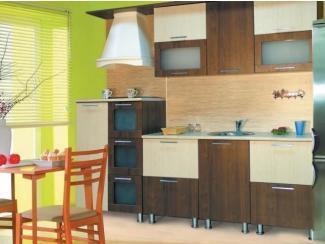 кухня прямая Модерн 5 МДФ - Мебельная фабрика «Долес»