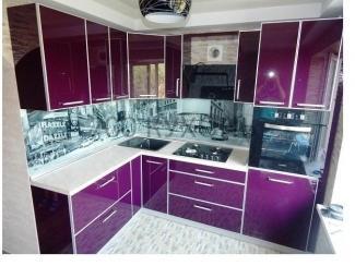 Угловая современная кухня - Мебельная фабрика «700 Кухонь»