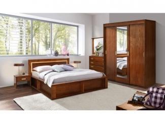 Простой спальный гарнитур Луксор  - Мебельная фабрика «Пинскдрев»