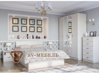 Спальня в белом цвете Вега - Мебельная фабрика «Северная Двина»