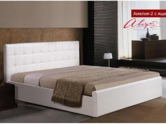 Кровать Амелия 2 с ящиком - Мебельная фабрика «Август»
