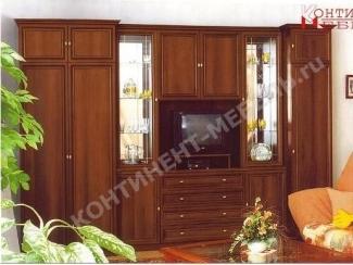 Вместительная стенка Марина 11 - Мебельная фабрика «Континент-мебель»