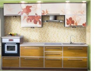 Кухонный гарнитур прямой ЦВЕТЫ - Мебельная фабрика «Радо»