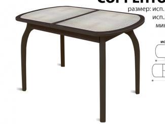 Стол обеденный Соренто кожа - Мебельная фабрика «Аврора»
