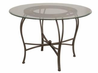Стол металлический круглый 2831 - Импортёр мебели «МебельТорг»