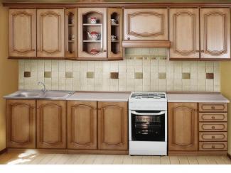 Кухонный гарнитур «Нижегородец МС-12» - Мебельная фабрика «Нижегородец»