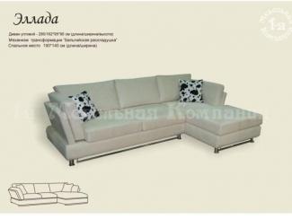 Угловой диван Эллада - Изготовление мебели на заказ «1-я мебельная компания», г. Нижний Новгород