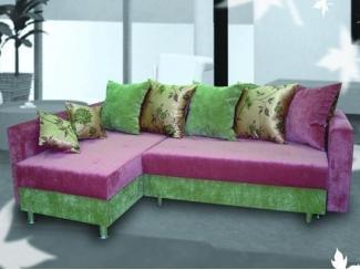 Яркий угловой диван Рико - Мебельная фабрика «Бис»