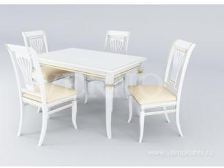 Обеденная группа Версаль - Мебельная фабрика «ВерноКухни»