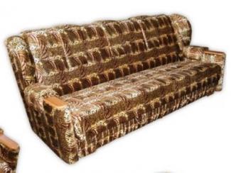Диван прямой Рио велюр - Мебельная фабрика «Мебель эконом»