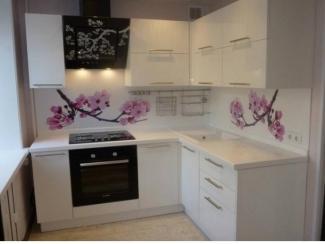 Кухня Эмаль Сакура - Мебельная фабрика «Кухни Дизайн»