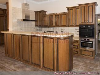 Кухня прямая Италия массив - Мебельная фабрика «Маруся мебель»