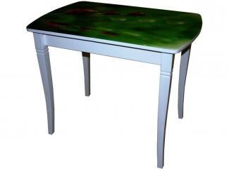 Стол со стеклянной столешницей Бридж