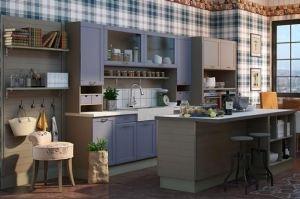 Кухня Бристоль прямая - Мебельная фабрика «Анонс»