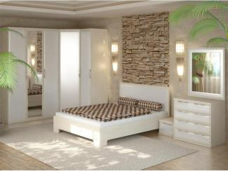 Спальный гарнитур Мальта - Мебельная фабрика «Успех»
