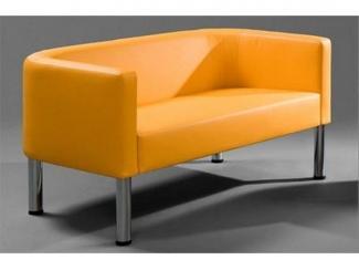 Яркий офисный диван Желтик - Мебельная фабрика «МКмебель»