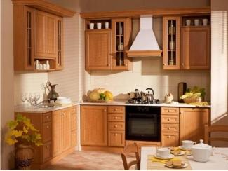 Кухня угловая Азалия ольха итальянский стиль - Мебельная фабрика «Основа-Мебель», г. Ульяновск