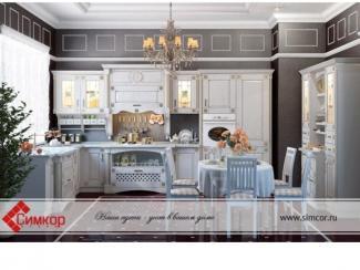 Кухня Кристель массив - Мебельная фабрика «Симкор»
