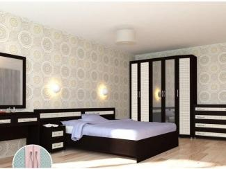 Черно-белая спальня Вентура - Мебельная фабрика «Аллоджио»