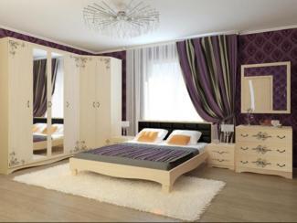 спальный гарнитур Елизавета - Мебельная фабрика «Аквилон»